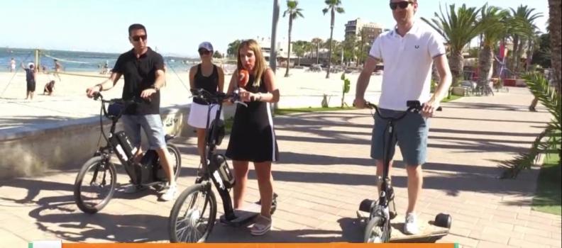 Reportaje en Murcia en Directo de TVM